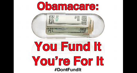 You Fund it You are for it